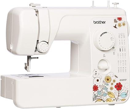 armyshop Brother jx2517 17-stitch máquina de coser con función de ...