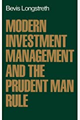 Modern Investment Management and the Prudent Man Rule Hardcover