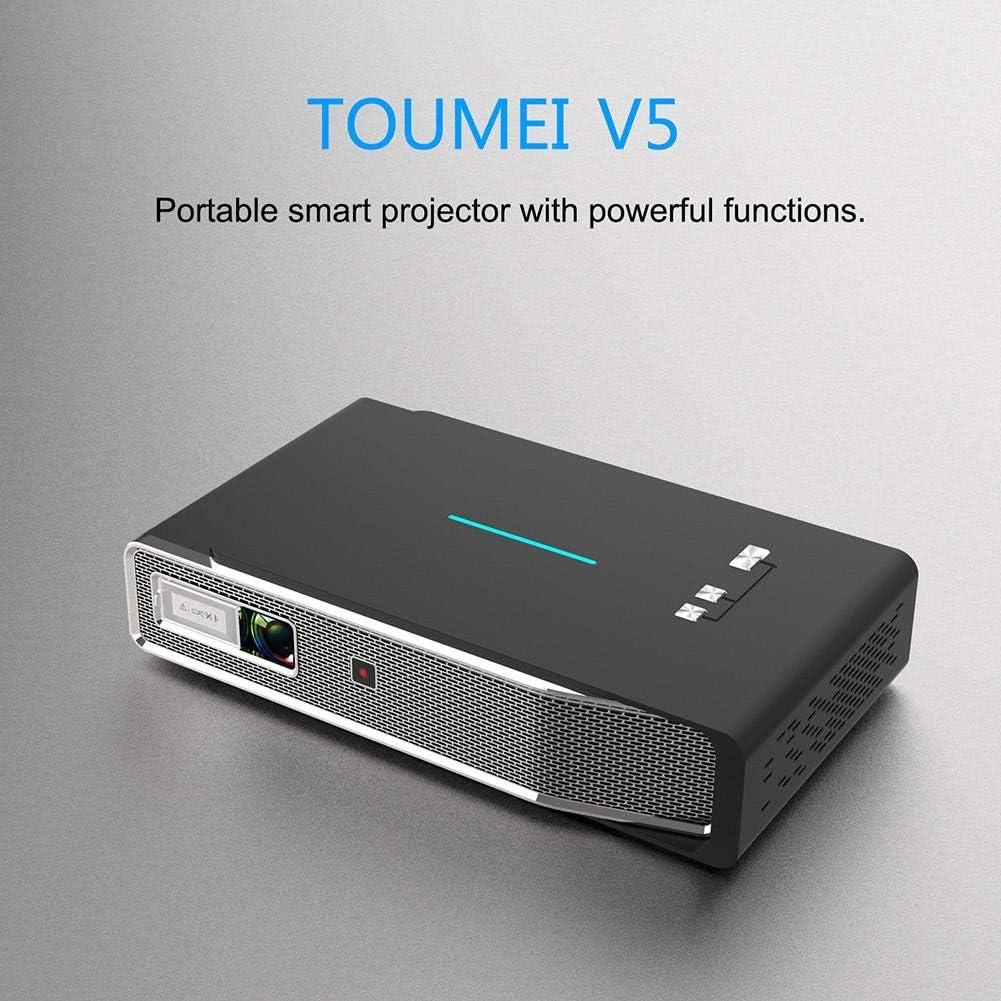 Navigatee Mini proyector - TOUMEI V5 3800 lúmenes proyector de ...