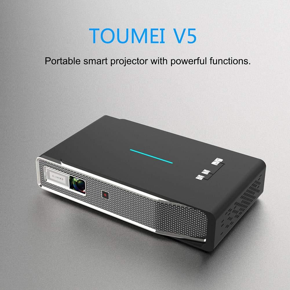 Navigatee Mini proyector - TOUMEI V5 3800 lúmenes proyector ...