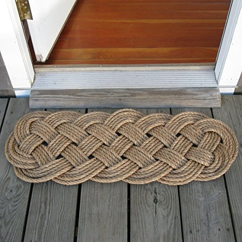 Manila Door Mat Rug Prolong Knot 5 Pass by Mystic Knotwork