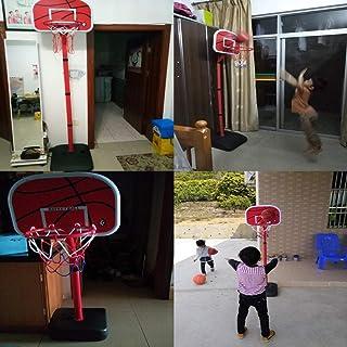 Basket Supporto da Pallacanestro per Bambini/Pallacanestro per Sollevamento Indoor/Giocattoli Fitness per Bambini/Giocattoli interattivi Personali/Regali di Compleanno / 2,2 Metri