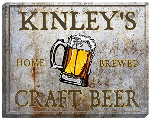 kinleys-craft-beer-stretched-canvas-sign