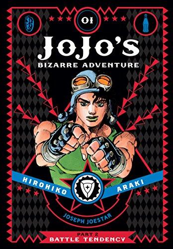 Vol 1 von Hirohiko Araki... JoJo/'s Bizarre Adventure Part 2--Battle Tendency