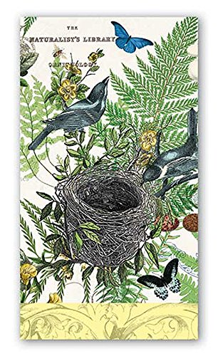 Michel Design Works 15-Count 3-Ply Paper Hostess Napkins, Into the Woods