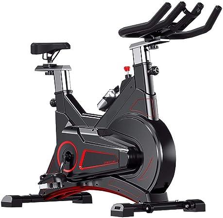 YSXD Bicicleta estática de Spinning Fitness, vicicleta estatica, Profesional Bicicleta Indoor, Ajuste de Resistencia de Engranaje 0-100 Física + Magnetrón Diseño de Puente de Arco Rueda móvil: Amazon.es: Hogar