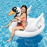 "Intex Swan Inflatable Ride-On, 51"" X 40"" X 39"", for Ages 14+"