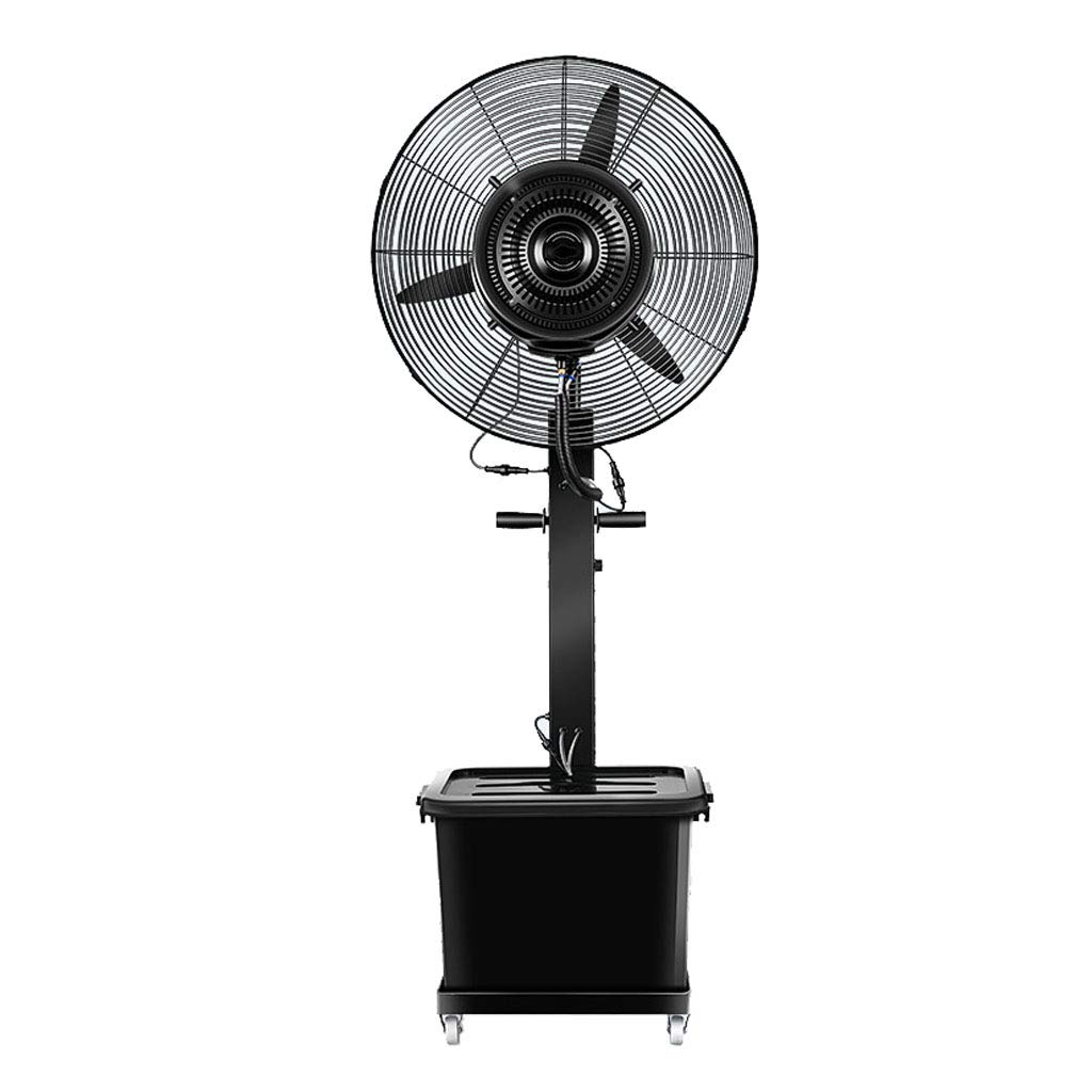 Oscillating Misting Fan 26 inch / 30 Inch Outdoor High Power Humidification and Cooling Industrial Spray Fan, Suitable for Outdoor, Factory, Shopping Mall 110V/60Hz by ZRN-Fan