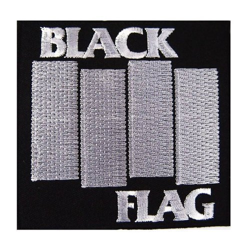 Black Flag American hardcore heavy metal punk rock band Embroidered Iron On Patches