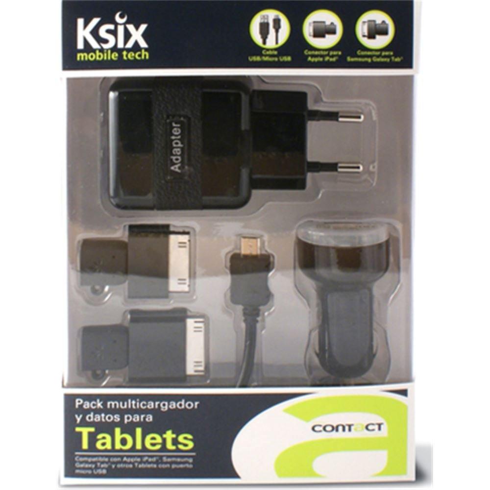 Ksix B0500CRDU - Pack de multicargador y datos: Amazon.es ...