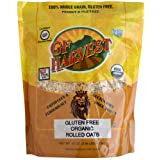 GF Harvest Organic Gluten Free Rolled Oats, 41 Ounce Bag