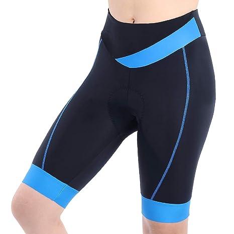 fe224ea27ac Amazon.com  beroy Womens Bike Shorts with 3D Gel Padded