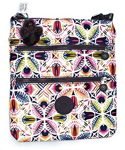 Kipling Womens Keiko Crossbody Mini Bag One Size Vibrant Collage