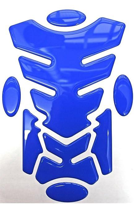Capricornone Grim Reaper Transformer Resin Domed Gel Tank Pad Turquoise