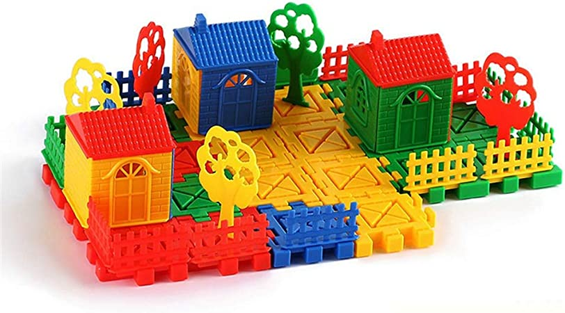 Conjunto de juguete Bloques de construcción para niños Juguetes educativos Jardín de infantes Juguetes de escritorio Bloques de construcción de rompecabezas de educación temprana Juguetes Suministros: Amazon.es: Hogar