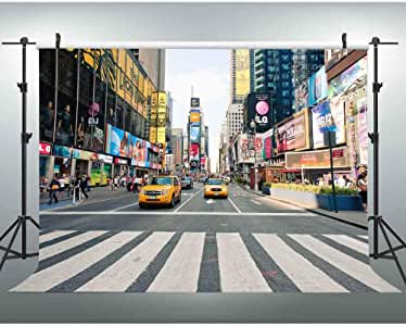 Amazon.com : EOA 7(W) x5(H) FT NYC Time Square Taxi