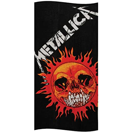 ...Beach Towel Black Album  . Metallica