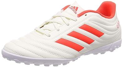 quality design ef6f5 8cf31 adidas Copa 19.4 TF, Chaussures de Football Homme, Multicolore Solar  RedOff White