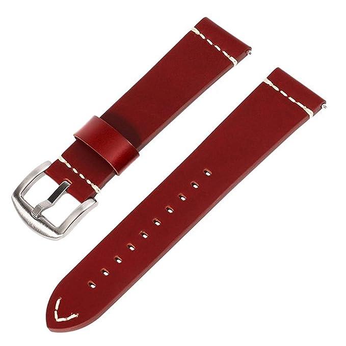 Jewh - Correa de Piel para Reloj de Pulsera, para LG G Watch ...