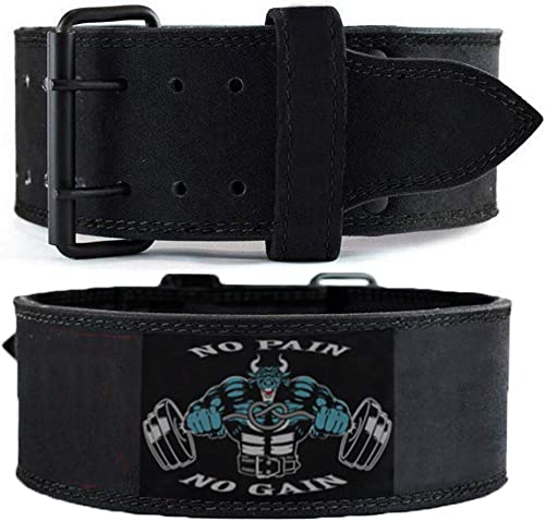 UnitedUshop 7MM Leather Weight Lifting Belt