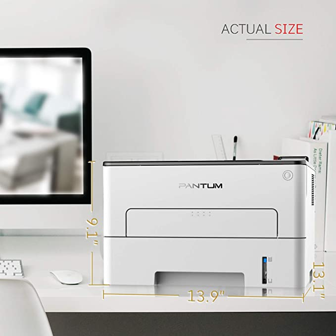 Amazon.com: Pantum P3302DW Monochrome Laser Printer with ...