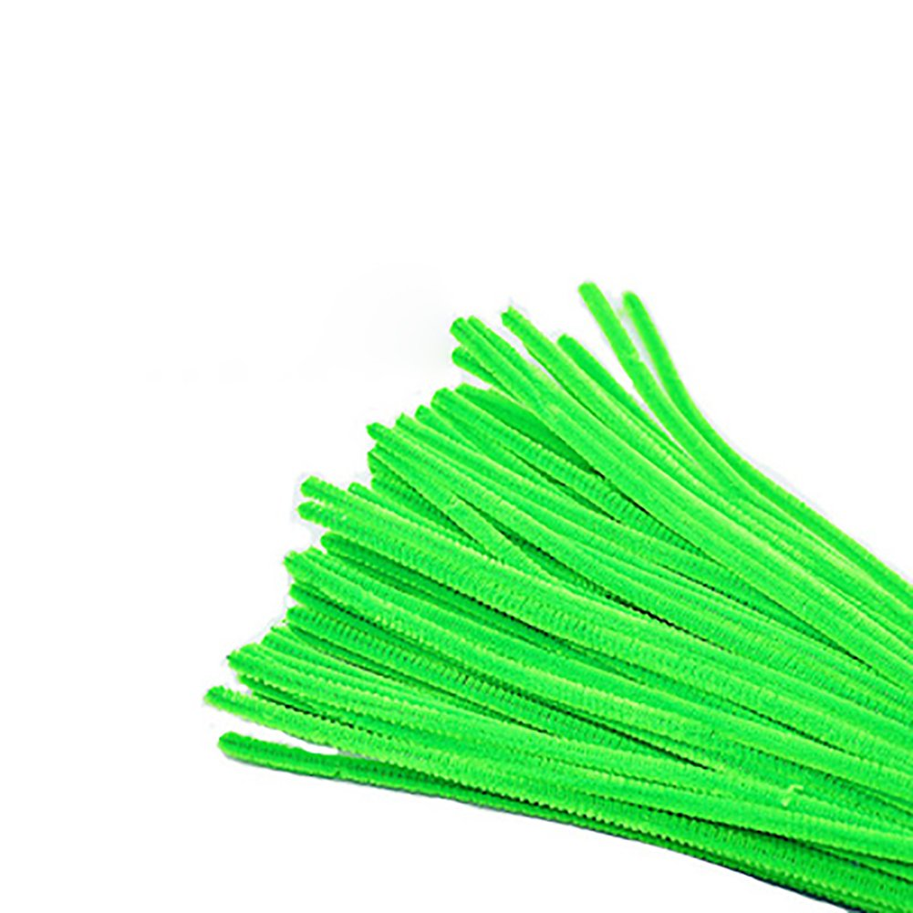 Black WeiMay 100Pcs Pipe Cleaners Chenille Stems for Children Kids Arts and Crafts Assorted Colours 6 x 300 mm
