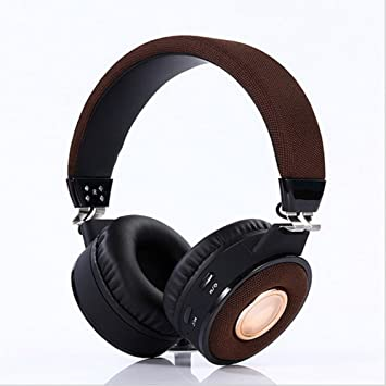 TD Dos orejas woofer pesado inalámbrico, auriculares portátiles, nuevo teléfono deportivo, auriculares de música. (Color : Marrón): Amazon.es: Electrónica