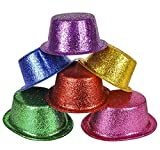 GLITTER TOP HATS, Case of 144