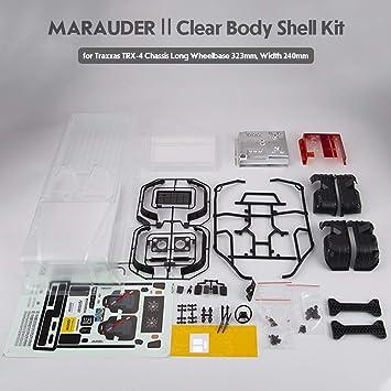 Goolsky- RC Car Body Shell Killerbody Marauder_Ⅱ RC Car ...