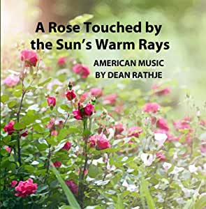 A Rose Touched by the Sun's Warm Rays