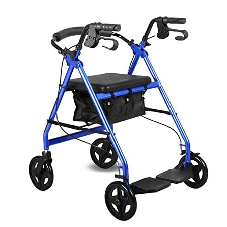 Walker Conduzca el Andador de Aluminio médico del Rodillo ...