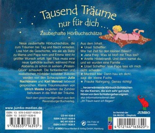 Tausend Träume Nur Für Dich Julia Nachtmann Karl Menrad Various