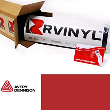 Avery Supreme GLOSS SOFT RED Vinyl Vehicle Wrap Trim Film Sheet Roll SW900-427-O