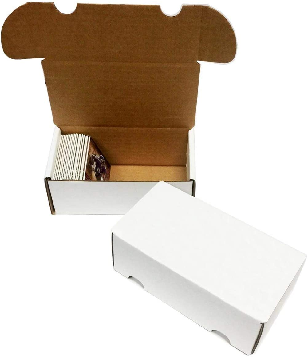 (8) 300 Count Corrugated Cardboard Storage Boxes by Max Pro for Baseball, Football, Basketball, Hockey, Nascar, Sportscards, Gaming & Trading Cards Collecting Supplies 61PeIpiJuEL