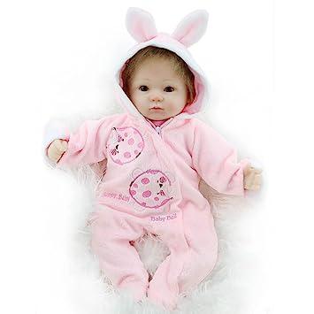 a96b9c6ff54f2 Samber Handmade Soft Silicone Newborn Dolls Lifelike Reborn Baby Doll  Rubber Artificial Doll Simulation of Regenerated