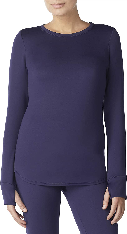 Cuddl Duds Aerowarm Frigid Weather Base Layer Shirt Thumbholes Top Womens Medium