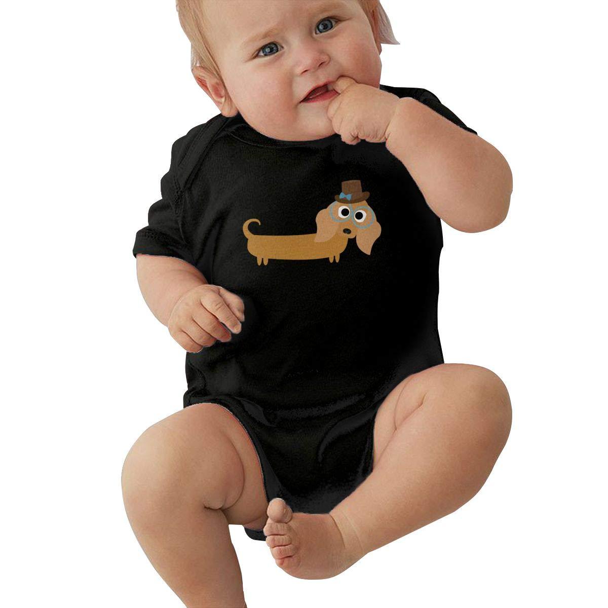 Dfenere Water Painting Graphic Newborn Baby Short Sleeve Bodysuit Romper Infant Summer Clothing