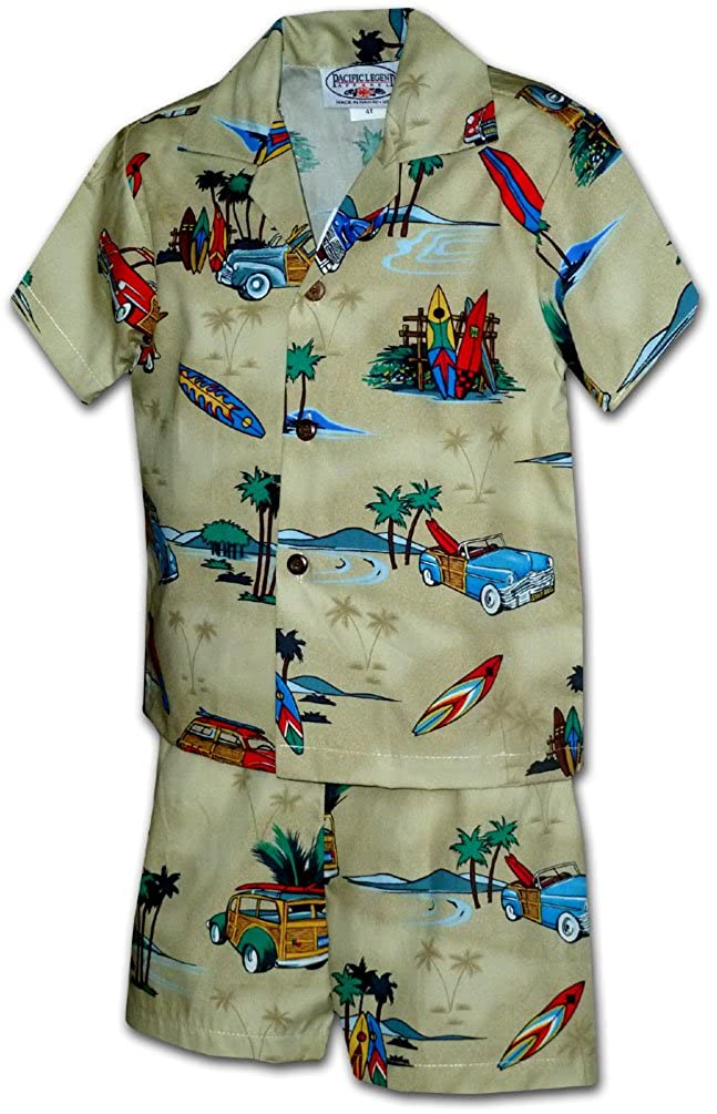 Hawaiian Boy Outfit Surf and Sand