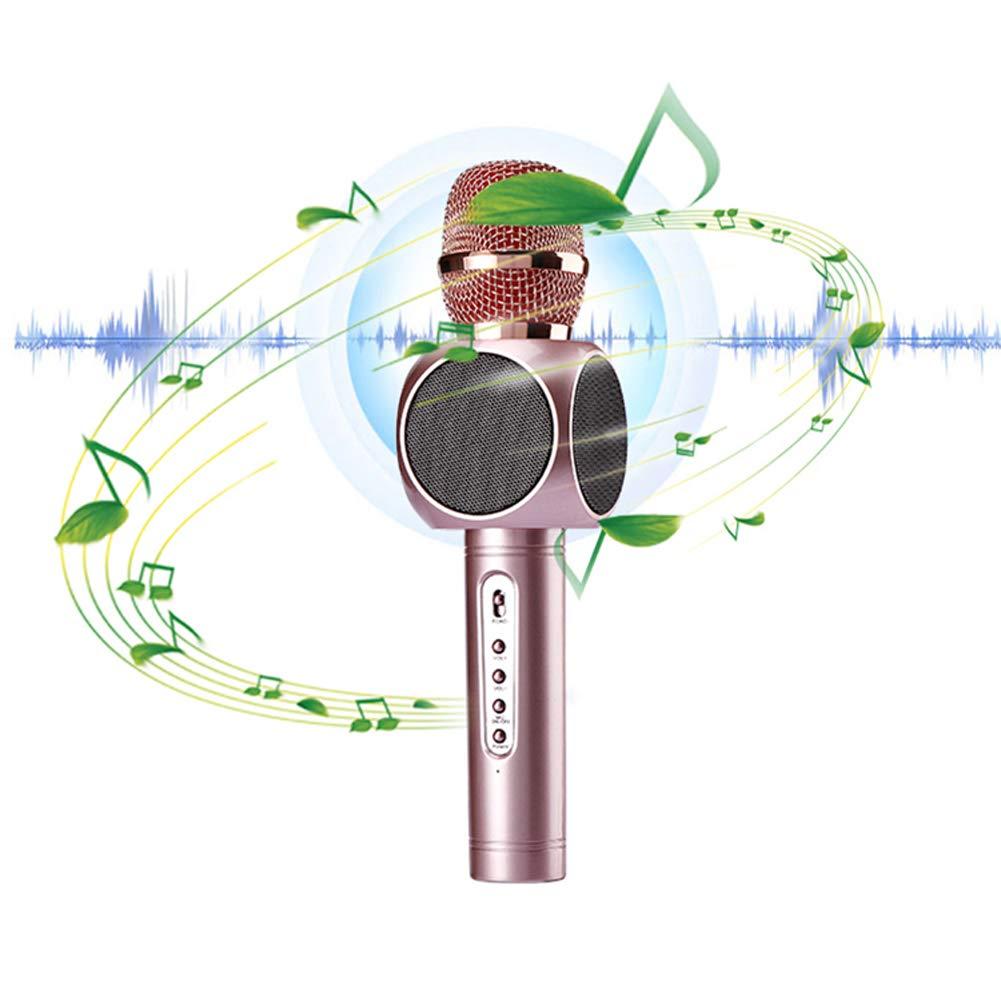 ZYWX Micrófono Inalámbrico Bluetooth para Teléfono Móvil ...