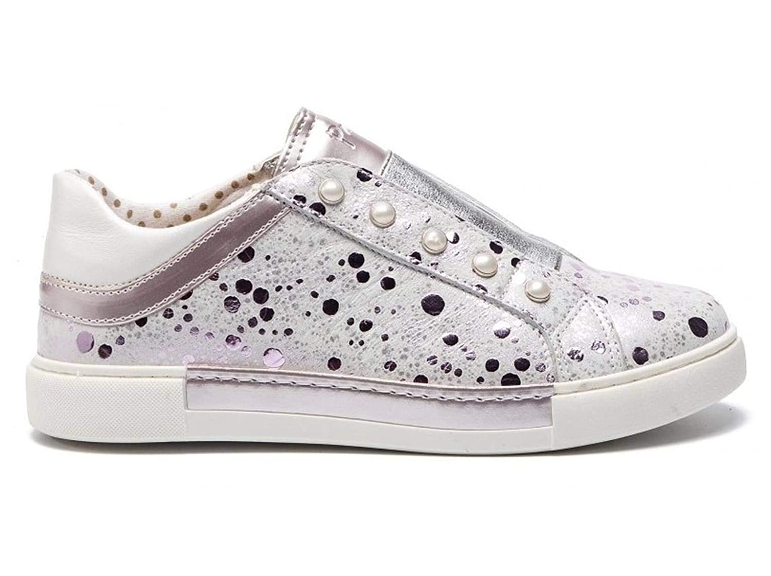 Primigi 3428922 Lilac Girl Leather Sneakers Made in Italy