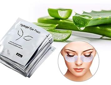 Amazon Com 70 Pairs Eye Gel Pads Lint Free Eyelash