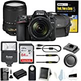 Nikon D7500 DSLR Camera w/18-140 VR Lens Bag Bundle