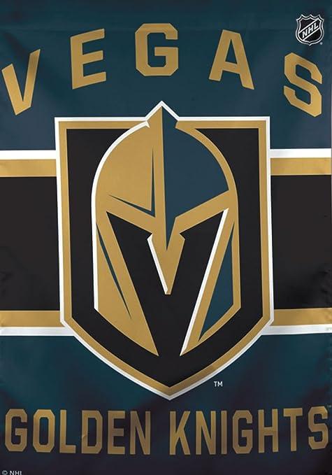 9b5e33afabd Amazon.com   NHL Vegas Golden Knights 28x40 Inch Vertical Flag Banner Logo    Sports   Outdoors