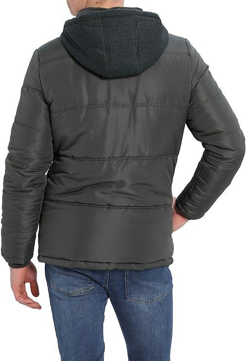 Blend Lima Herren Winterjacke Herrenjacke Jacke gefüttert mit Stehkragen und Sweatkapuze