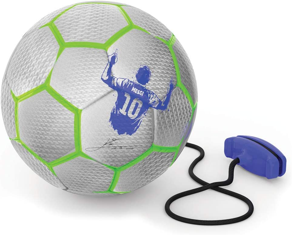 Silber Nylon//A OUTDOOR MET27000 Messi Limited Edition Pro Trainingsball