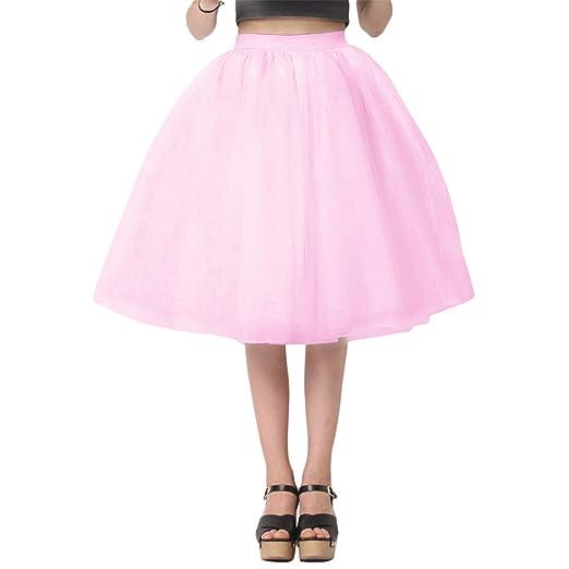 6730c41d8de TOGIC Fashion Women Chiffon Tulle Skirt White faldas High waist Midi Knee  Length Chiffon plus size