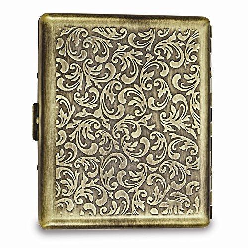 Antique Gold-tone or Silver-tone Cigarette/Card Case