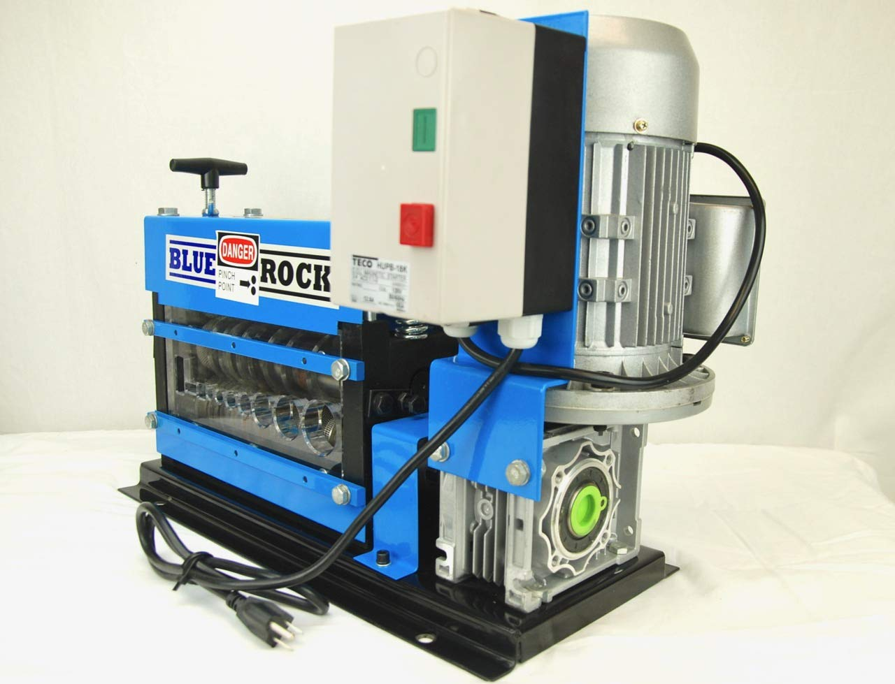 BLUEROCK Tools Model MWS-808PMO Wire Stripping Machine Copper Cable Stripper by BLUEROCK (Image #2)