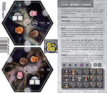 Supernova 2 Expansion for Eclipse Strategy Board Game by Asmodee ...