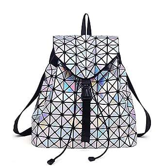 Amazon.com: Fashiondi Women Geometric Lingge Laser